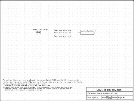 wiring diagrams Hot Tub Heater Element